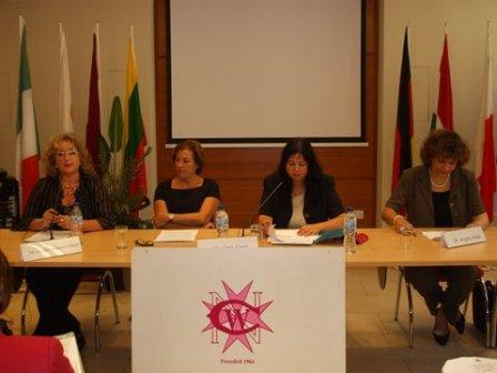 Speakers of 1st session Women and mental health