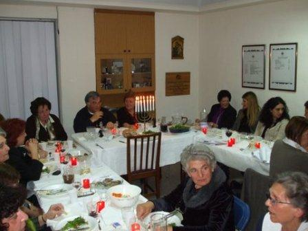 Passover Meal 2011